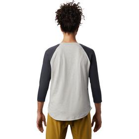 Mountain Hardwear Head in the Clouds Camiseta Ranglan 3/4 Mujer, heather grey